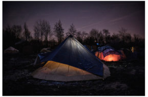 """From the project """"London calling, migrants camps in North France"""" 